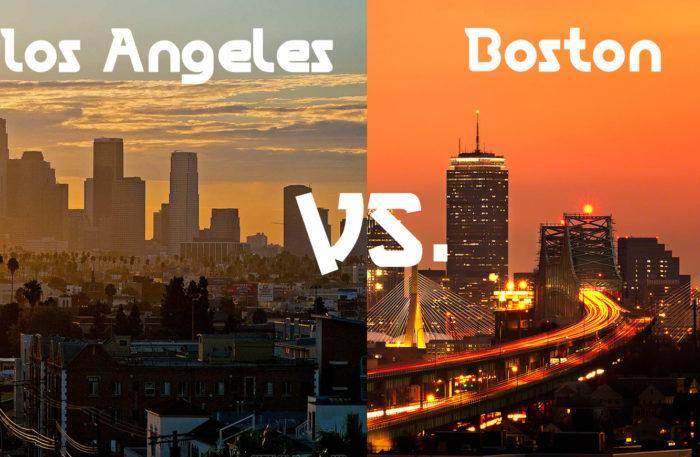 LA vs. Boston